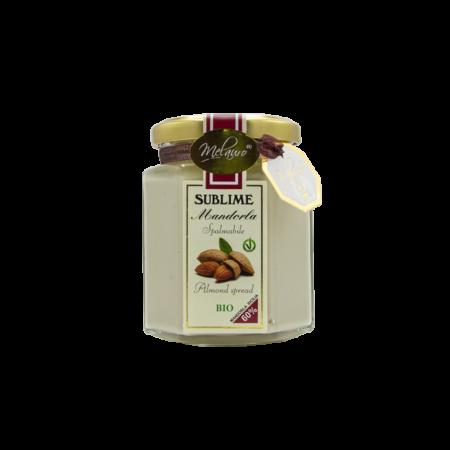 Almonds cream Melauro Organic artisanal