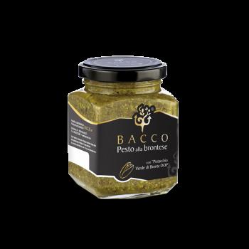 Bronte green pistachio pesto PDO natural