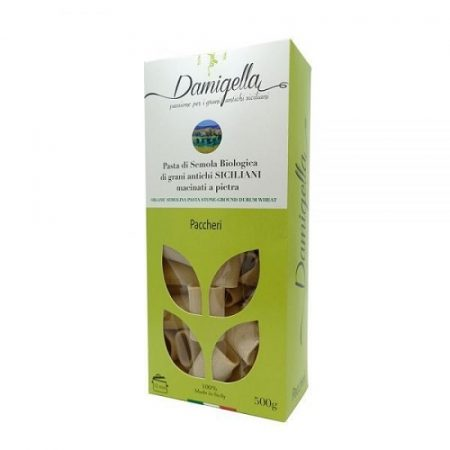 paccheri pasta sicilian organic artisanal