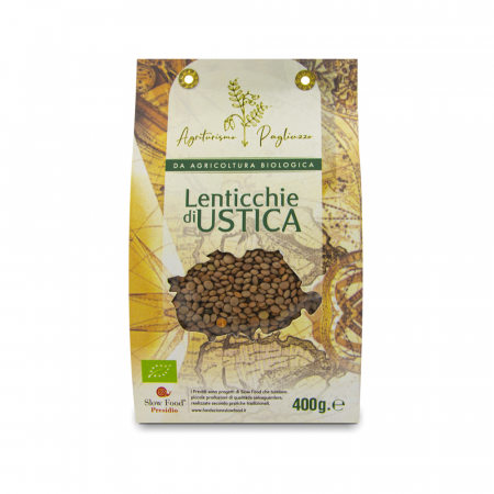 lenticchie di ustica slow food biologiche