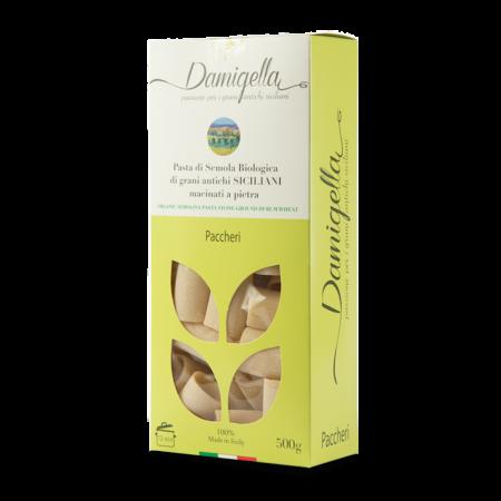 pasta paccheri biologica artigianale