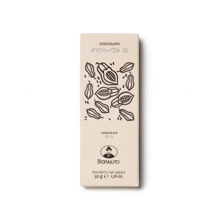 80 pure chocolate bar from Modica artisanal
