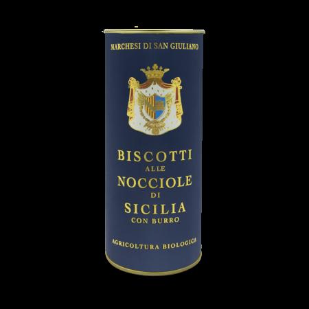 Hazelnut biscuits sicilian organic artisanal