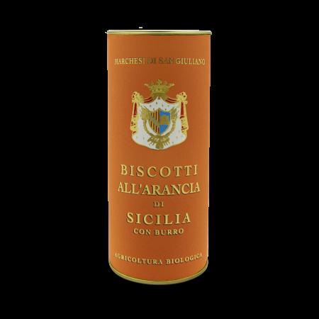 Orange biscuits Sicilian Organic Artisanal