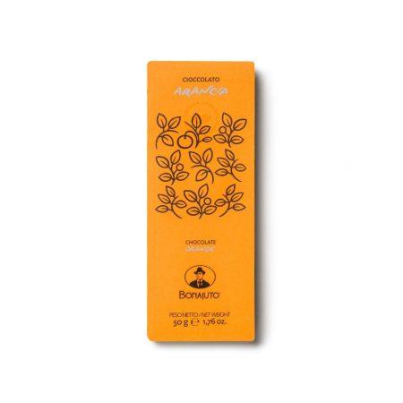 barretta di cioccolato allarancia da Modica artigianale
