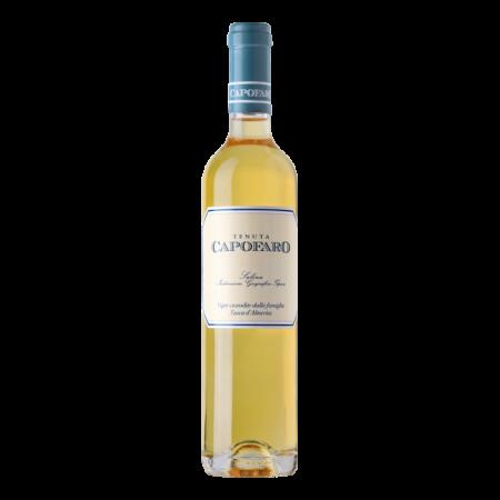 Capofaro Tasca DAlmerita straw wine Salina IGT