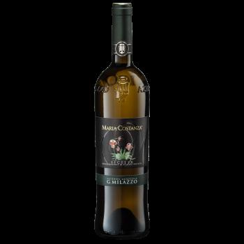 Maria Costanza white Milazzo wine Sicily DOP Organic