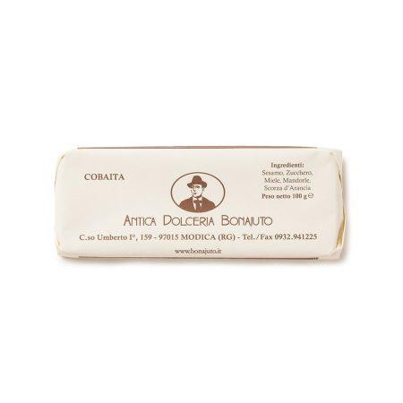 Cobaita nougat Bonajuto Artisanal natural ingredients