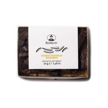 Scorze darancia al cioccolato Bonajuto Artigianale